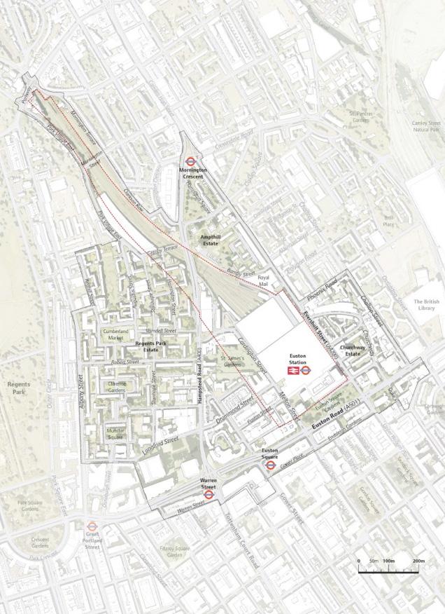 Euston Area Plan boundary