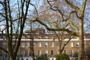 Northern range of Cartwright Gardens, Bloomsbury