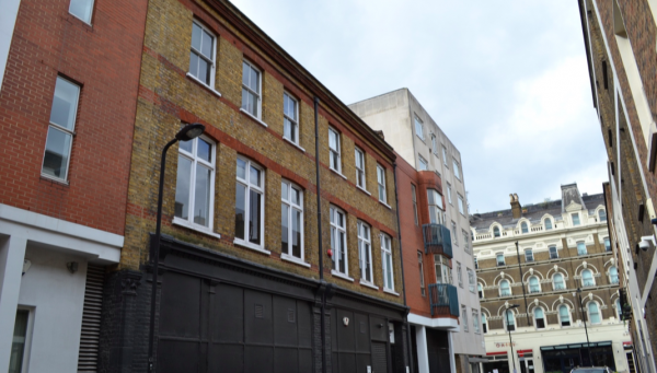 2-3 Morwell Street, in the Bloomsbury Conservation Area