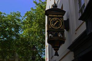 Pied Bull Yard in Bloomsbury