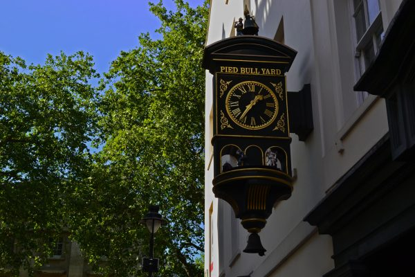 Pied Bull Yard in Bloomsbury