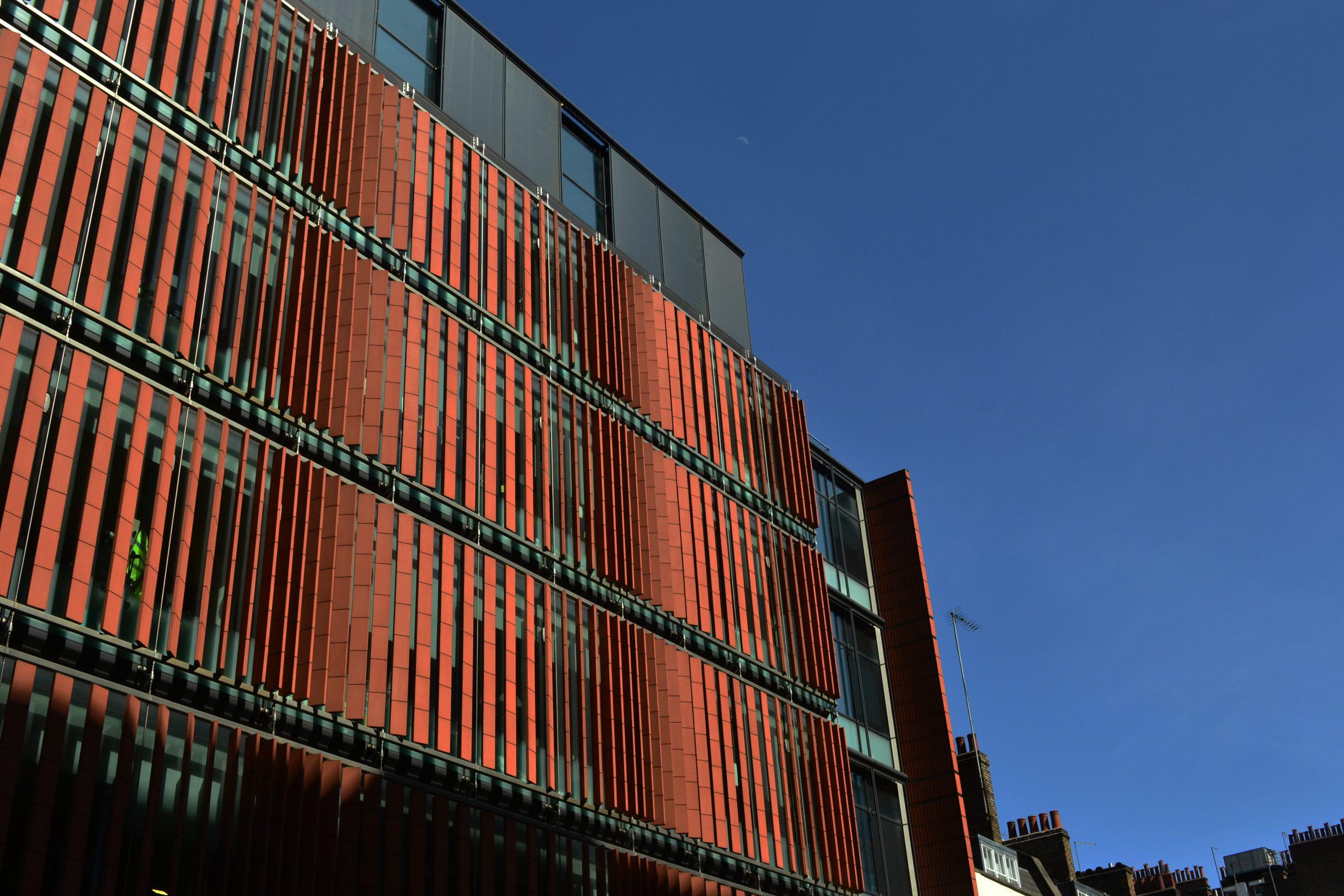Paul O'Gorman Building, Huntley Street, Bloomsbury Conservation Area