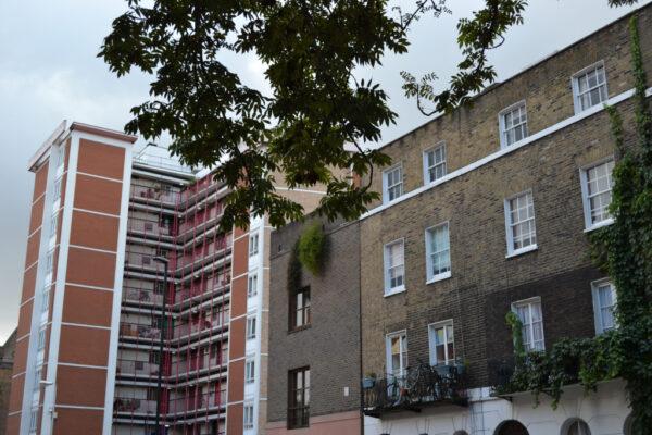 Medway Court, Judd Street, in Bloomsbury