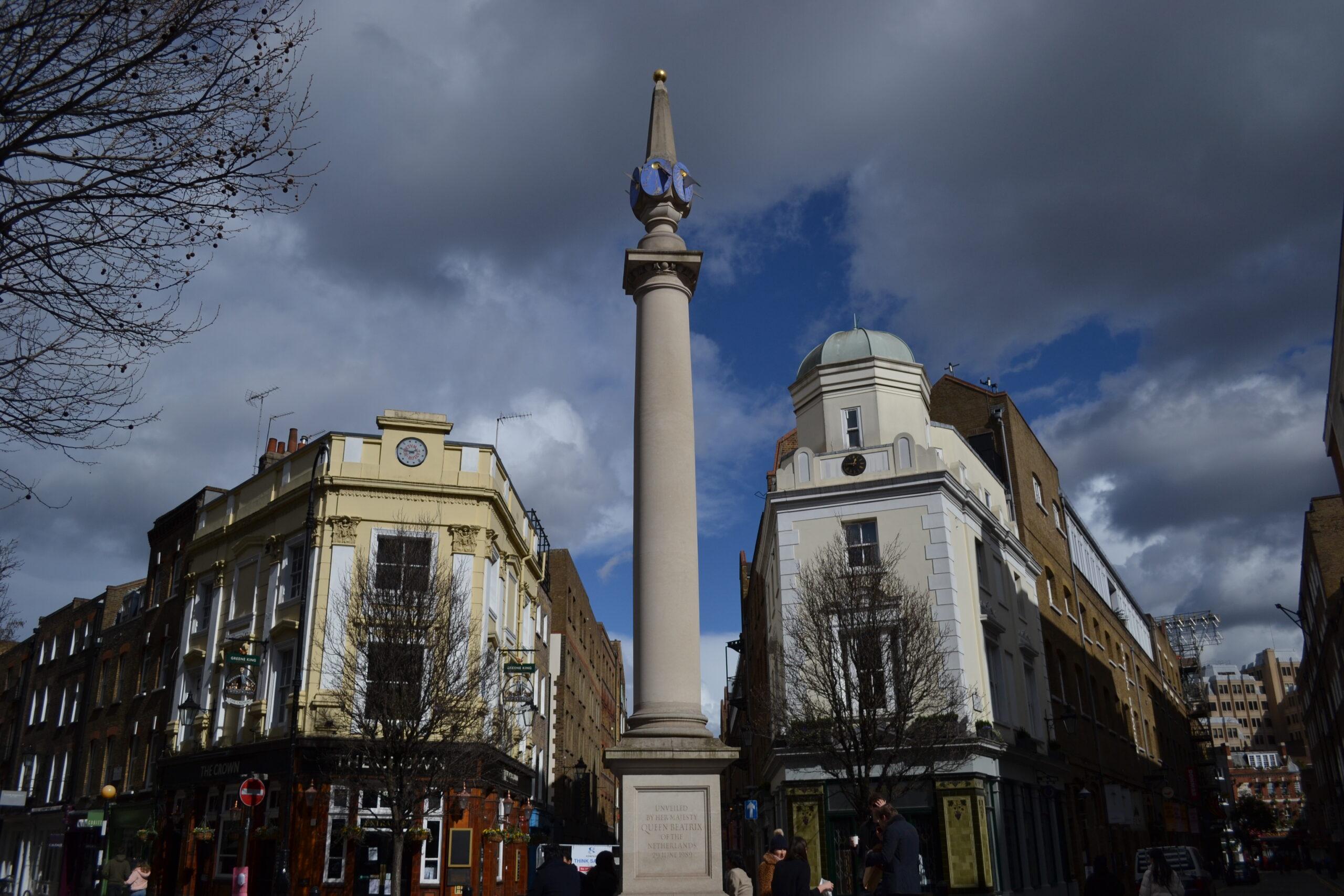 The Seven Dials Pillar