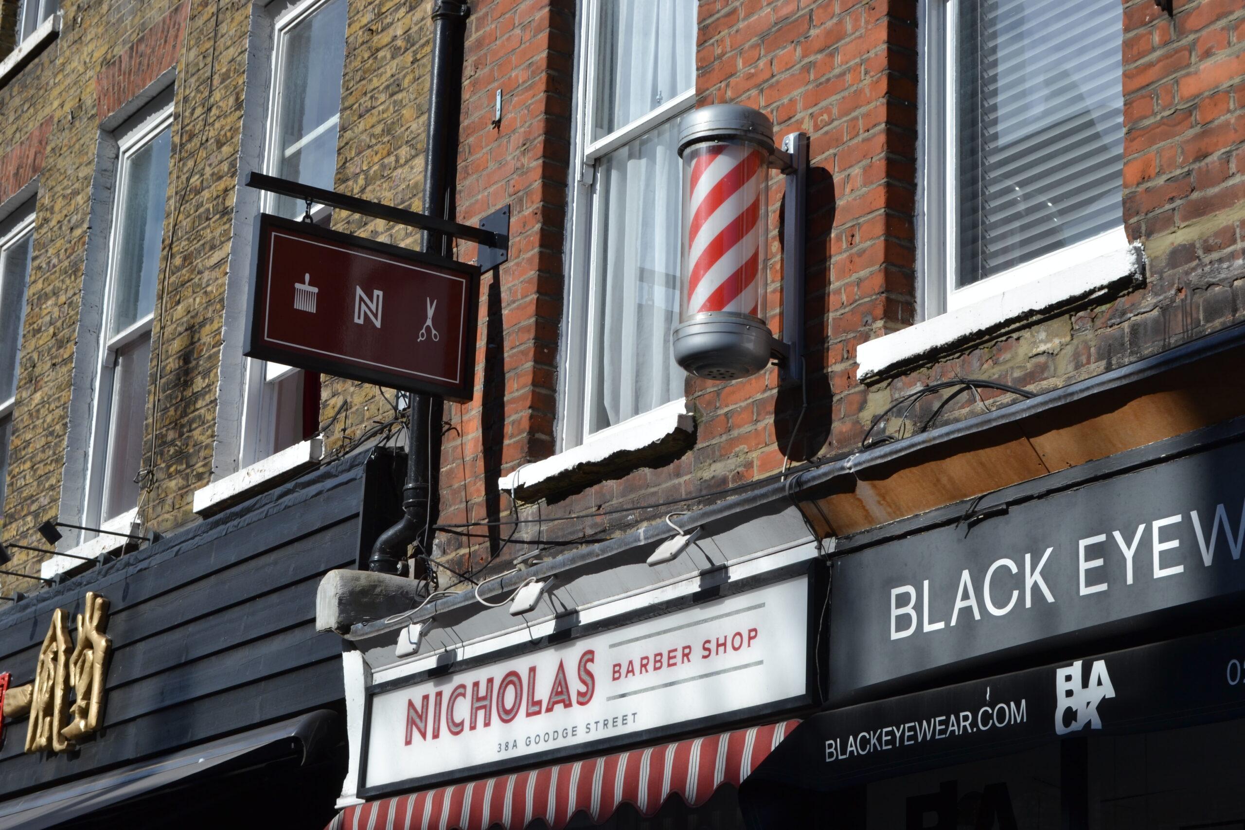 Shop signs on Google Street