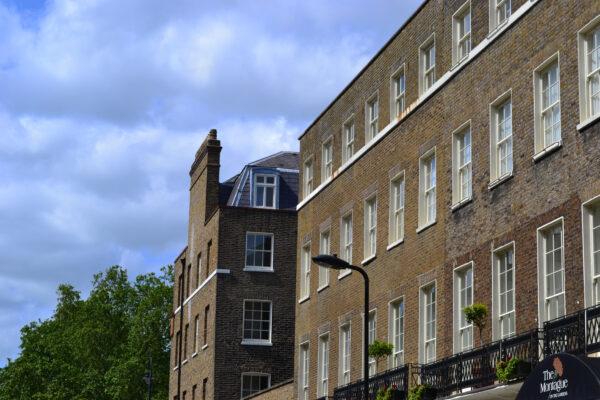 Georgian terraces on Southampton Place