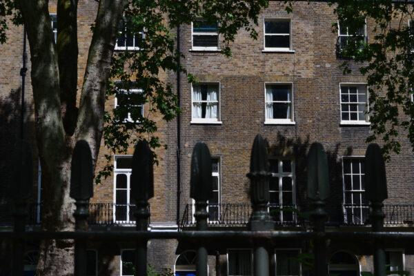 Woburn Square terraces